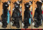 Black Beauty  Pony Unicorn Male Fursuit by AtalontheDeer