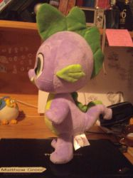 Spike Plushie ( Side View ) by fishwane