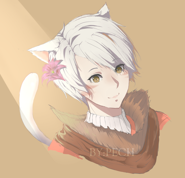 a certain FFXIV character (commission) by Shana1124