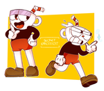 Cuphead by SecretNarcissist
