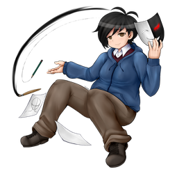 DanganRonpa - Super High School Level Artist by wizardotaku