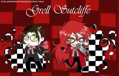 Chibi Grell by ItalianShorty