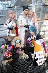 Final Fantasy XIII - Team Nora by Chibi-MeNanA