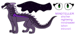 Mindteller Ref by i-draw-dragon-things