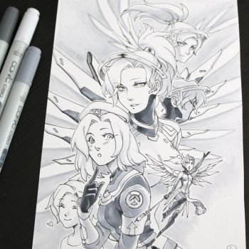 Mercy by Zombiesmile
