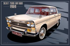Seat 1500 Bifaro (1969 model) by LeoluxArt