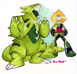 MLG Peridot by withery