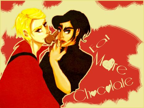 eat more chocolate by chocomog-mogi