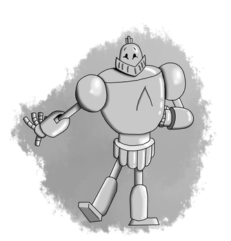 Art Trade: Robot of Wisdom and kindness by Bigjawthereptile