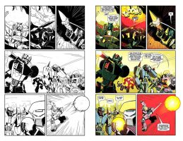 Machine Wars Botcon Comic Preview by dcjosh