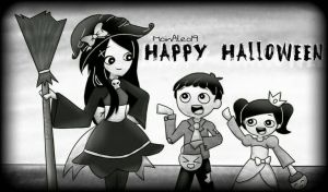 Happy Halloween!  by JuneArtCraft19