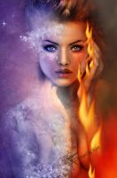 Fire and Ice by DesignbyKatt