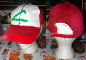 Anime Ash Ketchum Cap (WIP) by SpellboundFox