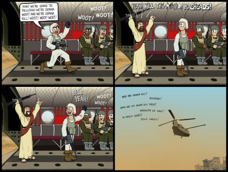 Is this what Jesus would do? by Patches67