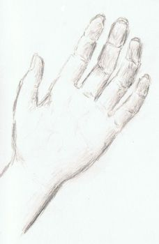 Hand study by Just0neMe