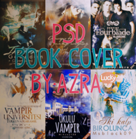 Book Cover's 6 Psd Header by AzraaAvc09