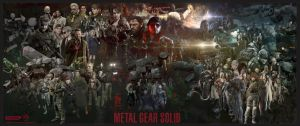 Metal Gear Solid Saga (V1) by marblegallery7