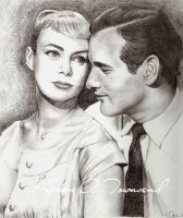 Paul Newman + Joanne Woodward by Karentownsend
