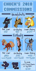 2018 Commissions (closed :( ) | Points Only by BIueHaiku
