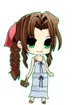 [ Aerith Gainsborough ] by WinterCupcake