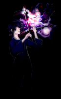 The Violinist by katcrunch
