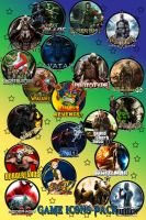 Games Icons Ultimate Pack by kraytos