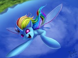 Rainbowbug by FoughtDragon01