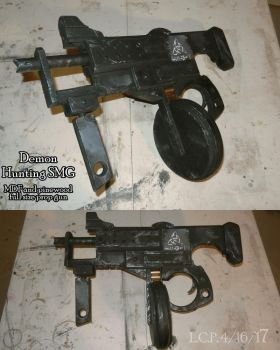 Prop Weapon: Demon Hunting SMG by Sathiest-Emperor