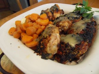 Lemon Broiled Chicken Thighs by Ekow2286