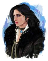 Yennefer (Witcher 3) by j2Artist