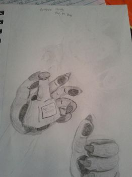Anthro Hands Sketch by thisishalloween0722