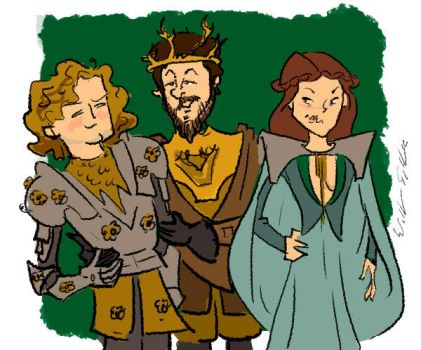 Renly's Predicament by bangalore-monkey