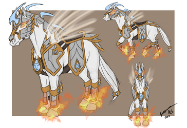 ROI Skin Contest - 'Elloran Destrier' by Elusive-Bard