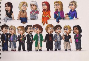 The Doctor's Companions :: VIII by KalaSathinee