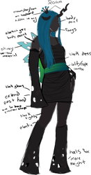 Queen Chrysalis Cosplay Plan by Jousinjif