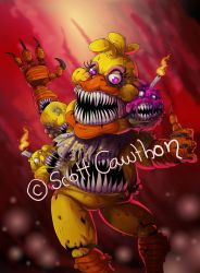 Twisted Chica by LadyFiszi