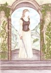Bernadett's Secret Wardrobe - Eowyn brown-white by maya40