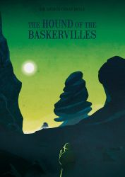 -The hound of Baskervilles- Book cover by sanjota