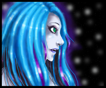 Morphine's Profile View by Taulha