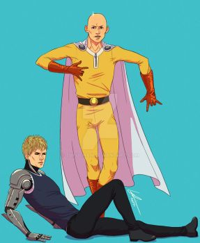 One Punch Man by tupuchan