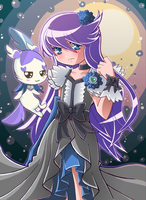Cure Moonlight and Cologne by Hadibou
