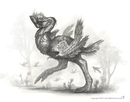 Rhinoraptor - Thunderbird by MIKECORRIERO
