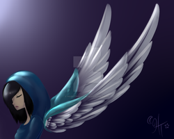 Angel - A Light In The Dark Dead by HaruTsukiyomi