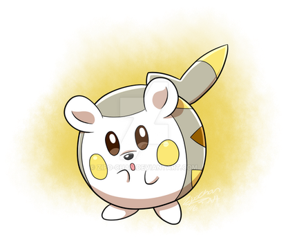 Togedemaru by Zipo-Chan