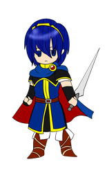 Chibi Marth by EstelaRN