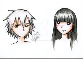 Sketch Character...2 by Lucia-95RduS