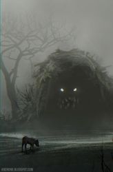 Swamp creature by Androno25