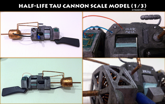 Tau Cannon for SD BJD (1/3 scale model) by BloodyKylie
