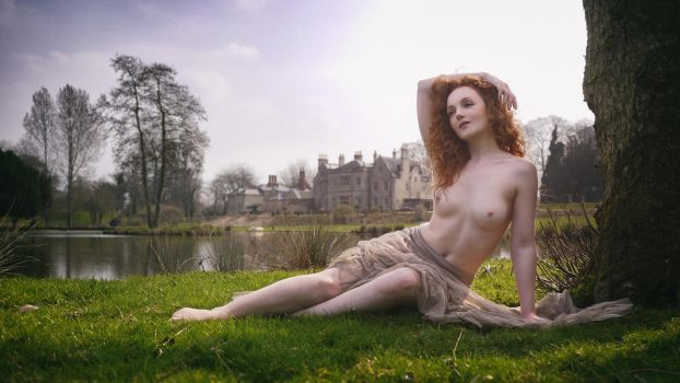 Ivory Flame: Lady of the manor by JeremyHowitt