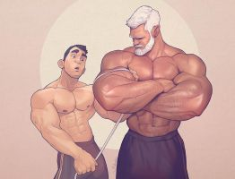 Hunks of the week #54 by silverjow